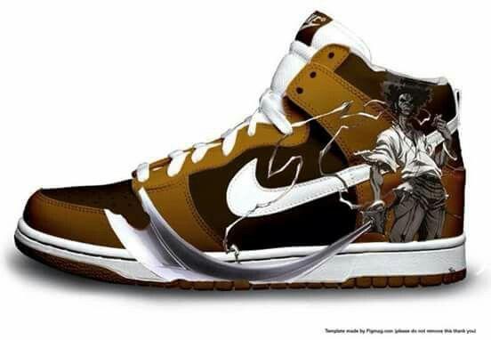 Afro Air designer Custom Jordans Samurai Samurai schoenen Shoes Tw1wF6qnd