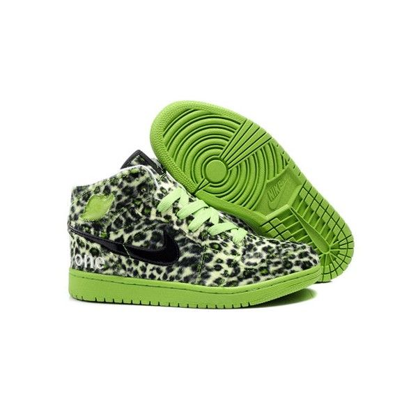 online store 5f0f1 a83e6 AIR JORDAN 1 LEOPARD OLYMPIC PACK LIME GREEN BLACK | give me ...