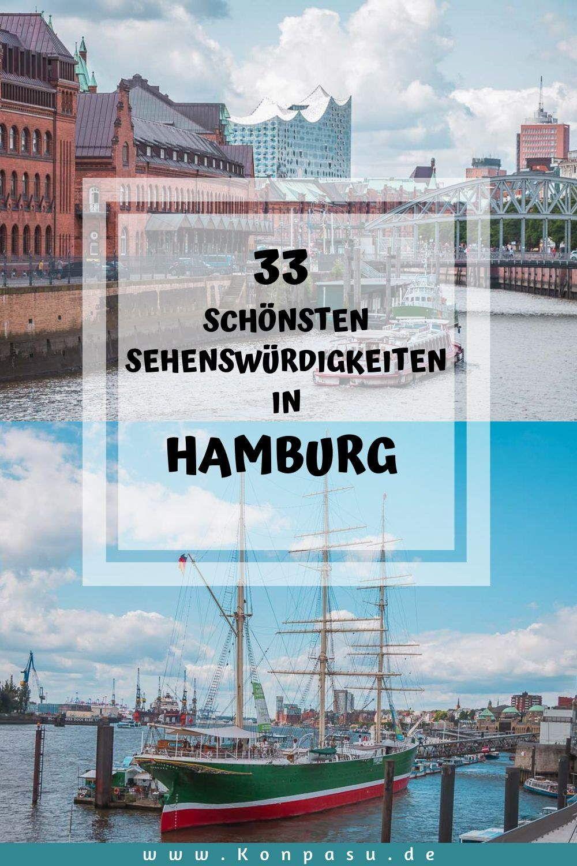 33 Sehenswurdigkeiten In Hamburg Highlights Geheimtipps Hamburg Sehenswurdigkeiten Hamburg Ostsee Urlaub
