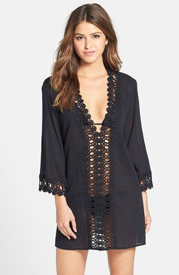 08102a958 Swimsuit CoverUp - I can't wait for the beach & pool... La Blanca Crochet Trim  Cover-Up | Nordstrom