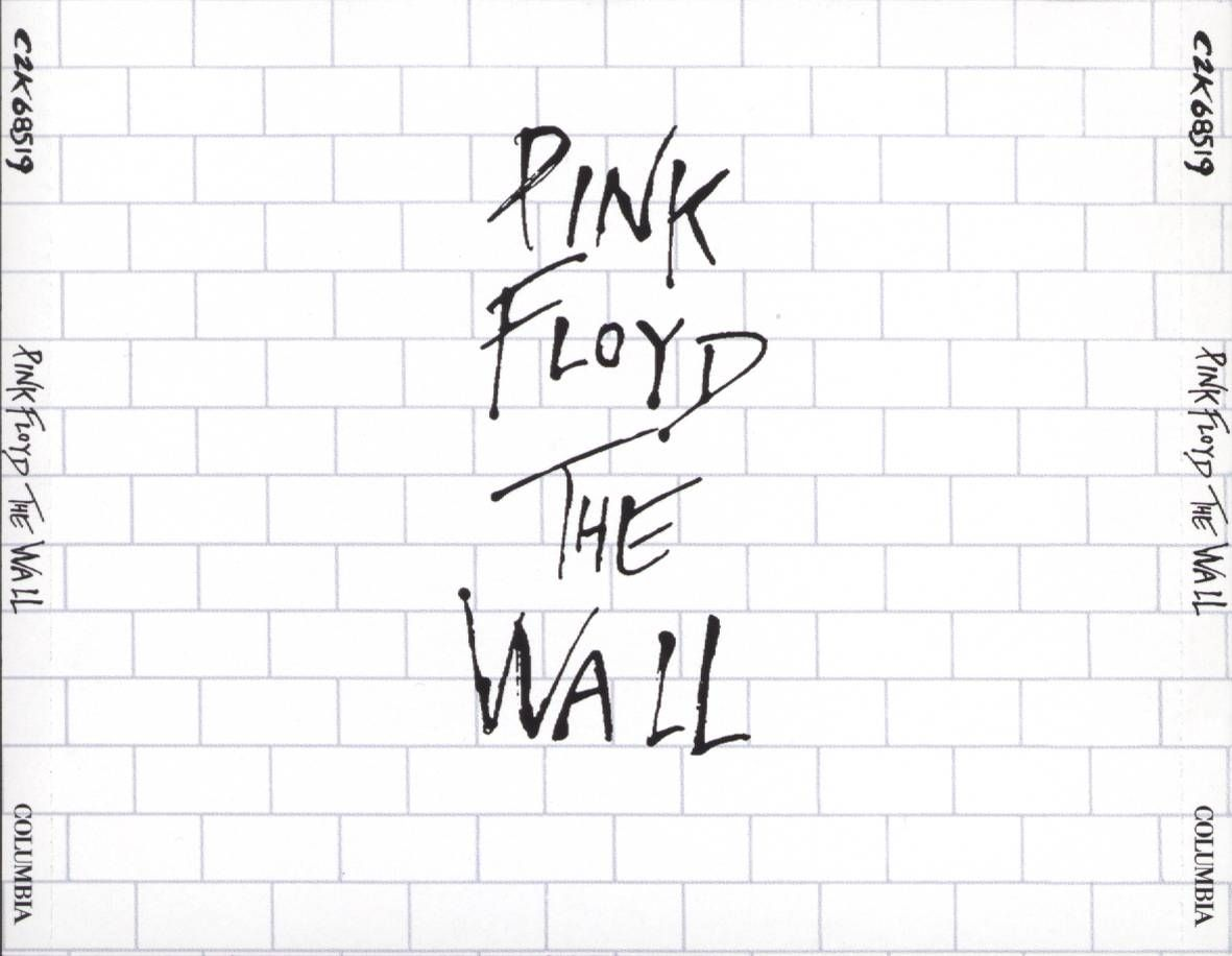 carátula frontal de pink floyd the wall portada pink on pink floyd the wall id=99059