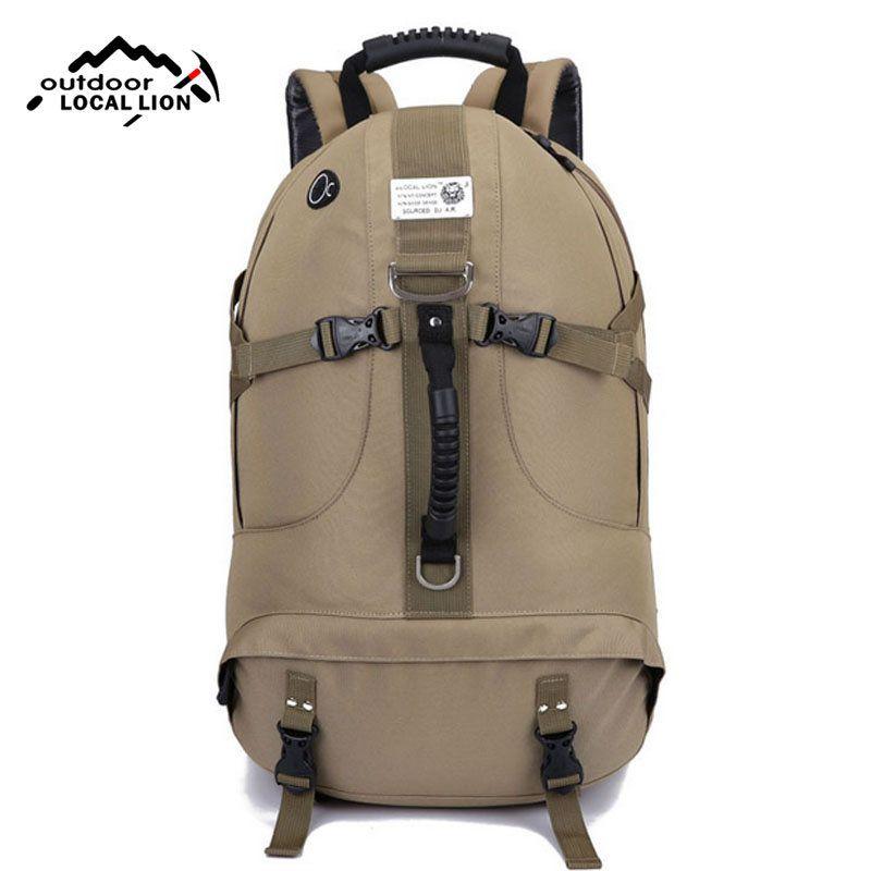 Bag · Outdoor Climbing Travel Shoulder Backpack Mountain Hiking Camping Bag  Nylon Big Capacity ... 8c345aef004bb