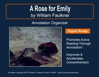 A Rose For Emily By William Faulkner Annotation Organizer Essay On