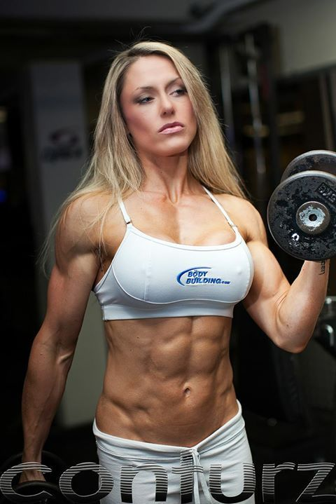 Muskulöse Mädchen