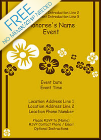 create a invitation free printable
