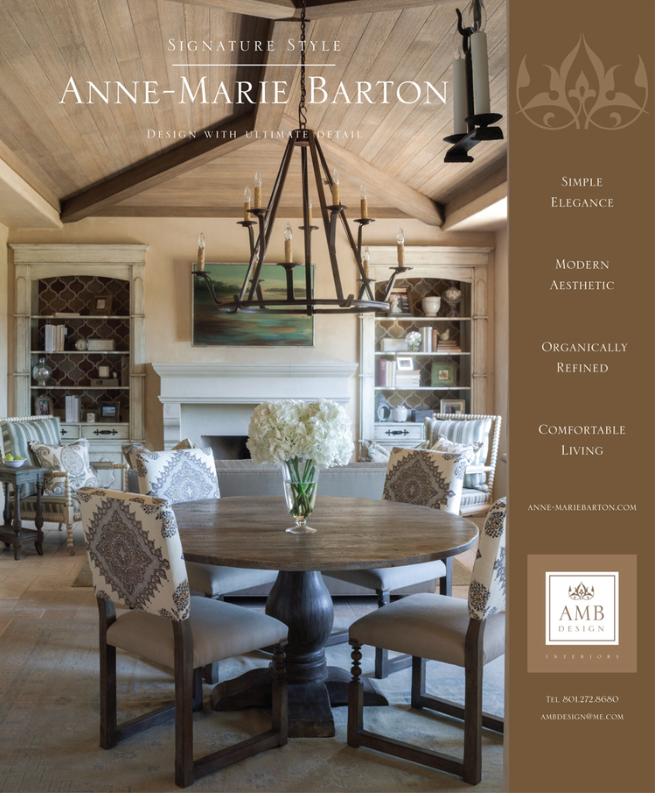 AMB Design Print Ad 2013 #ambdesign #interiordesign #marketing #vintage #simpleelegance