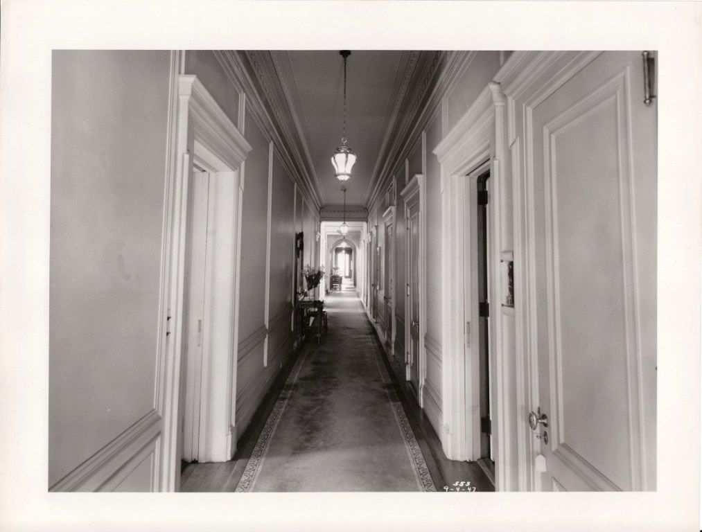 Long Foyer Age : Winfield hall long island ny original photo of one