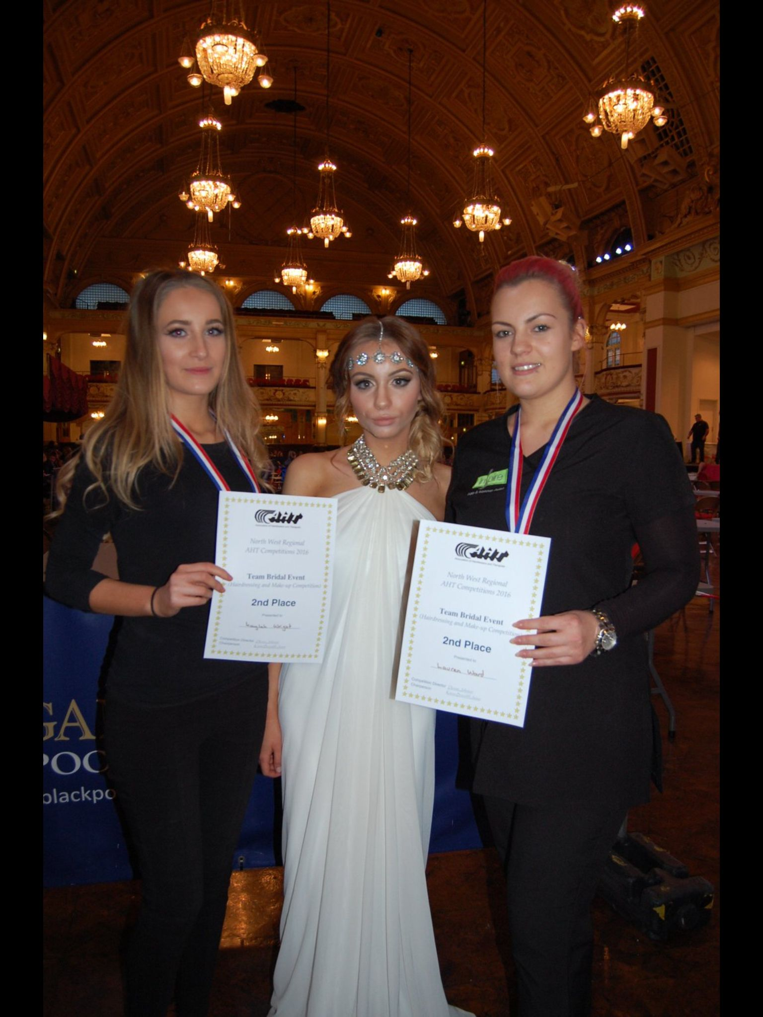 aht area heat competitions at blackpool winter gardens 2016 2nd