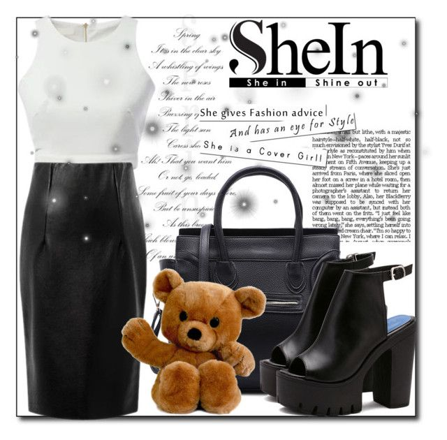 """""""SheIn3"""" by irmica-831 ❤ liked on Polyvore featuring WithChic"""