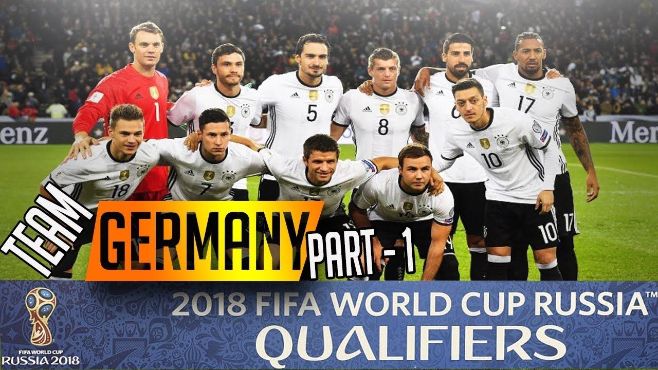 Image Result For Fifa World Cup 2018 Image Of Germany Germany Football Team World Cup Germany Team