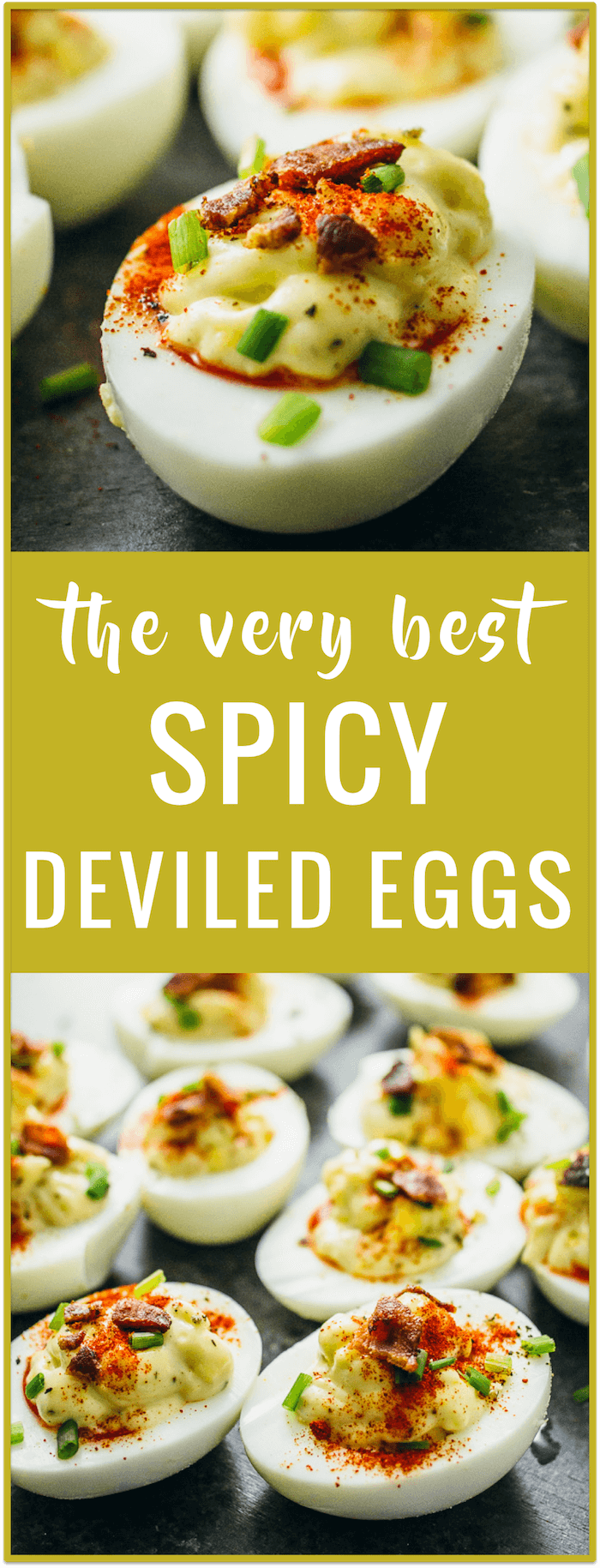 Spicy Keto Deviled Eggs With Bacon - Savory Tooth