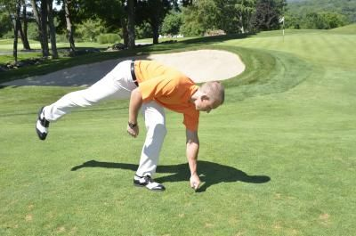 Golfing and Osteoporosis tips...e,g, How to pick up your ball