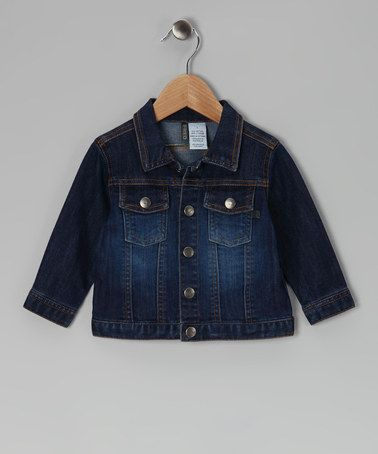 Take a look at this Fred Bare Denim Snap Jacket - Infant & Toddler by Fred Bare on #zulily today!