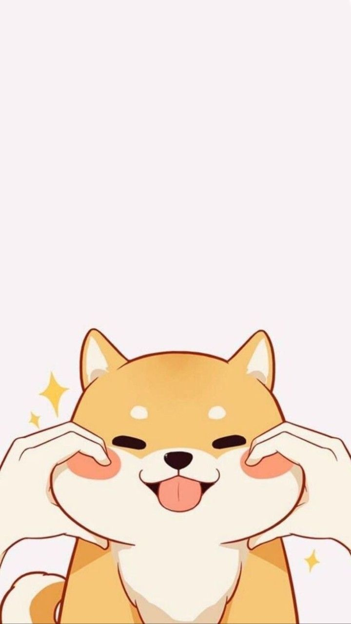 Happy To Get Something Eh Click Here To Download Cute Wallpaper Pinterest Happy To Get Some Cute Cartoon Wallpapers Dog Wallpaper Iphone Cute Wallpapers