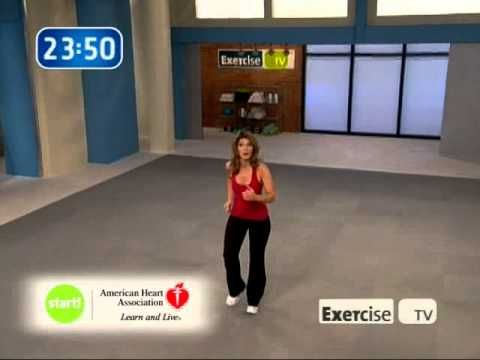 Exercise Tv Start Walking At Home 3 Miles With Leslie Sansone Leslie Sansone Exercise Walking Exercise