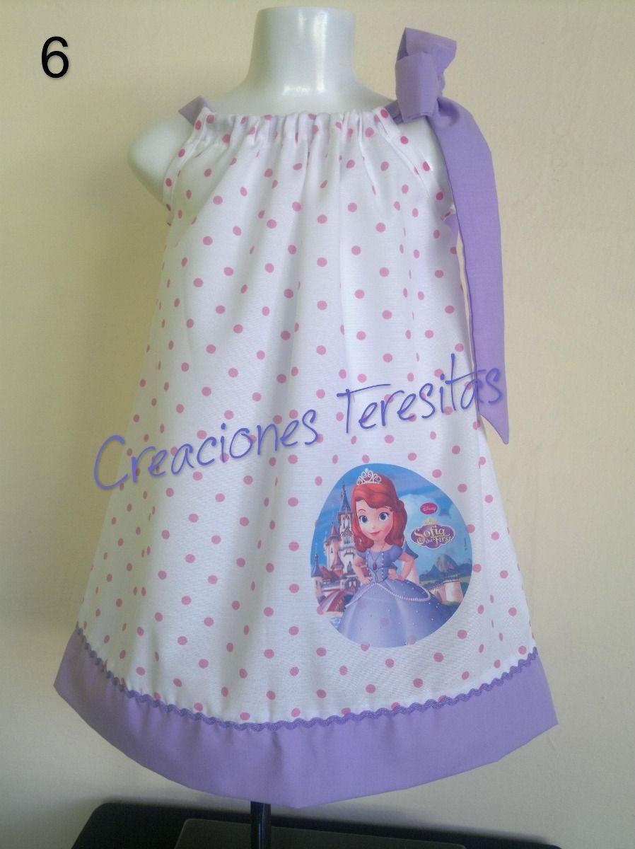 4f1e1a567 Vestidos De Niñas Peppa Pig Minnie Frozen Princesa Sofia - Bs. 2.200,00 en  MercadoLibre