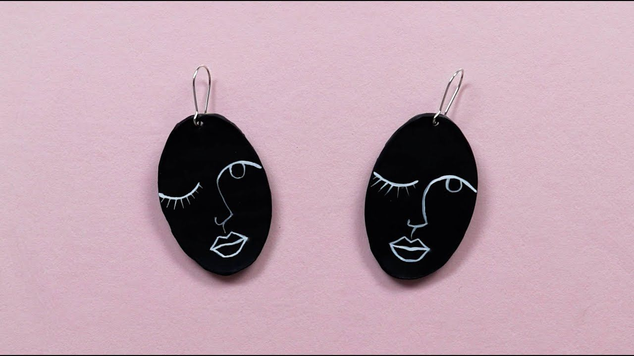 Learn how to make these easy and fun polymer clay face