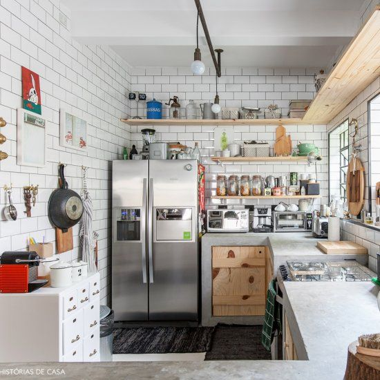 Modern Industrial Style Combines Aesthetics With: In This Modern Apartment In Brazil Industrial Style Meets