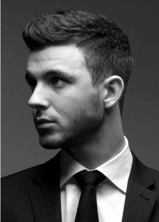 14 Inspirational Short Hairstyles for Men   Hair cuts, Mens ...