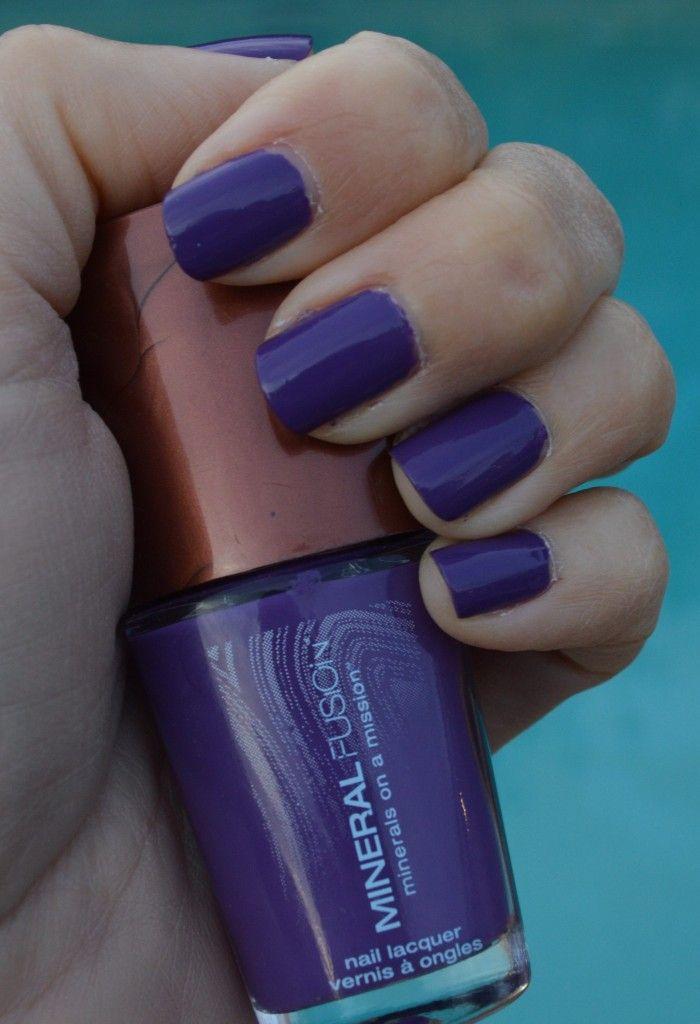 Mineral Fusion Rock Cress nail polish review