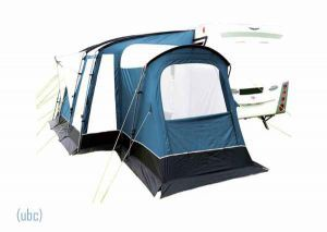 Bedroom Annexe For Sunncamp Strand 390 Lightweight Porch Awning