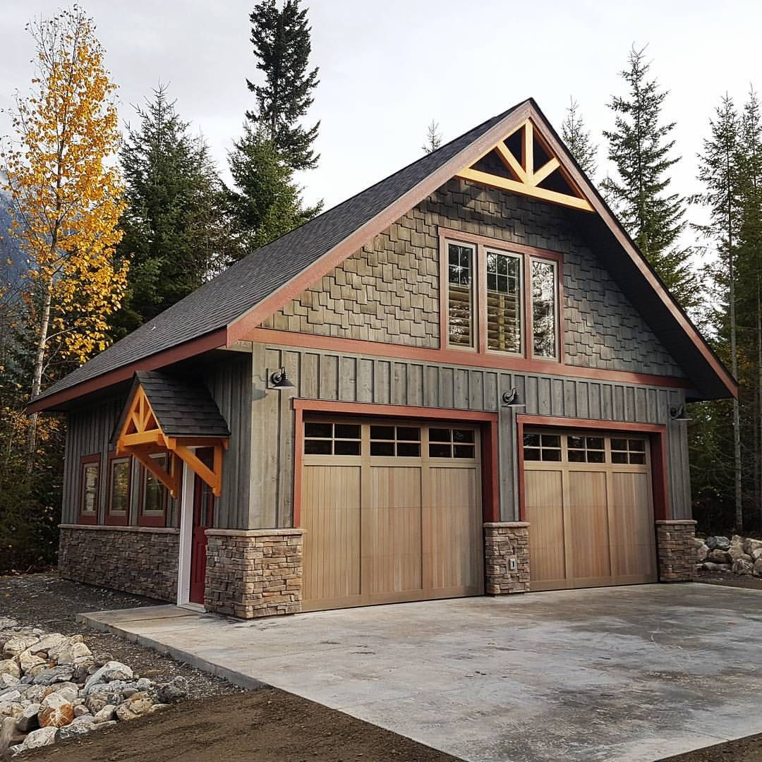 Plan 14632rk Rugged Craftsman With Room Over Garage: Pin By Jess Griffin On House Wish List In 2019