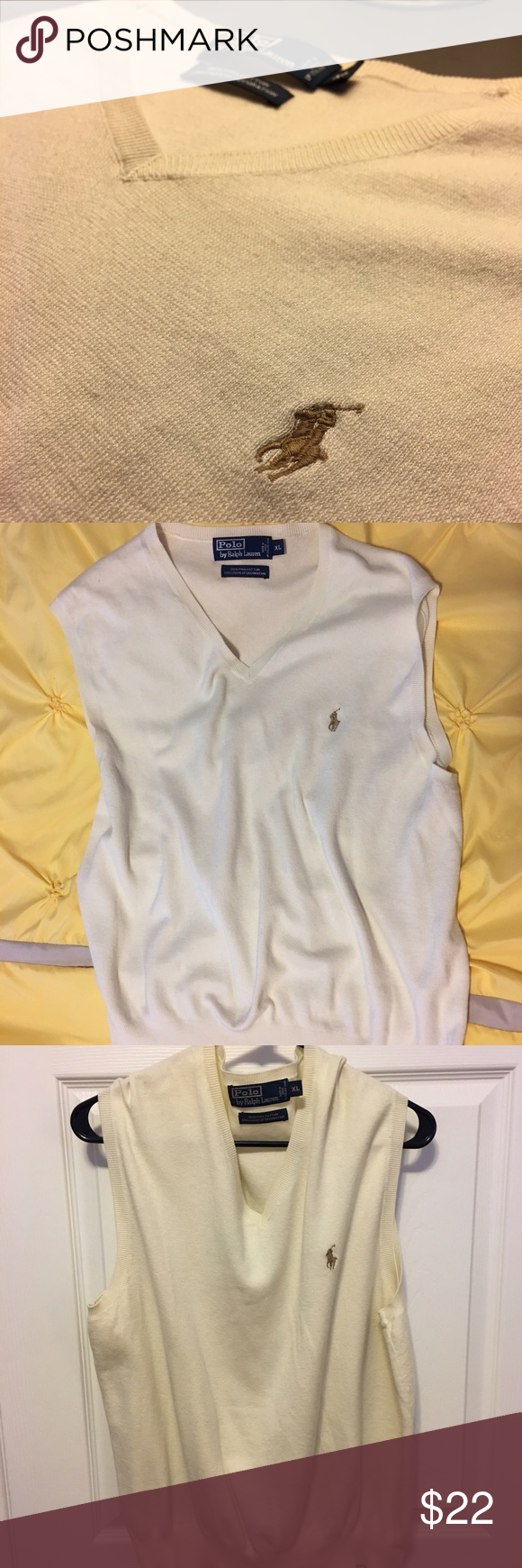Men's Ralph Lauren Polo Sweater Vest Men's Ralph Lauren Polo ...