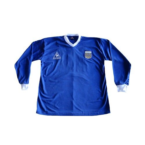 1986 Soccer Jersey Adidas Ls Away Vintage Retro Argentina 4xPvqz