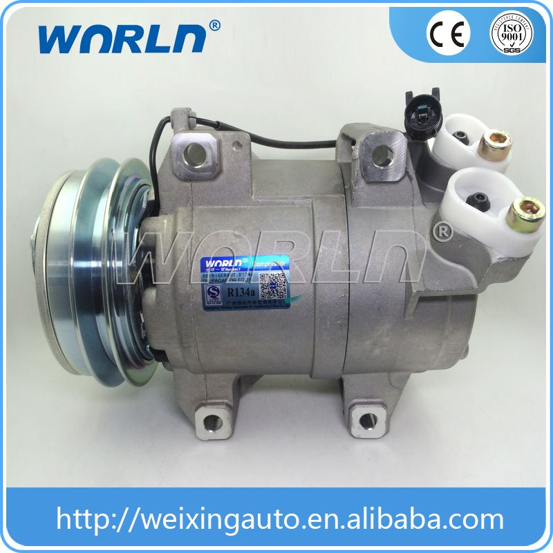 Automotive Ac Compressor Dks15d And Clutch For Mitsubishi Pickup
