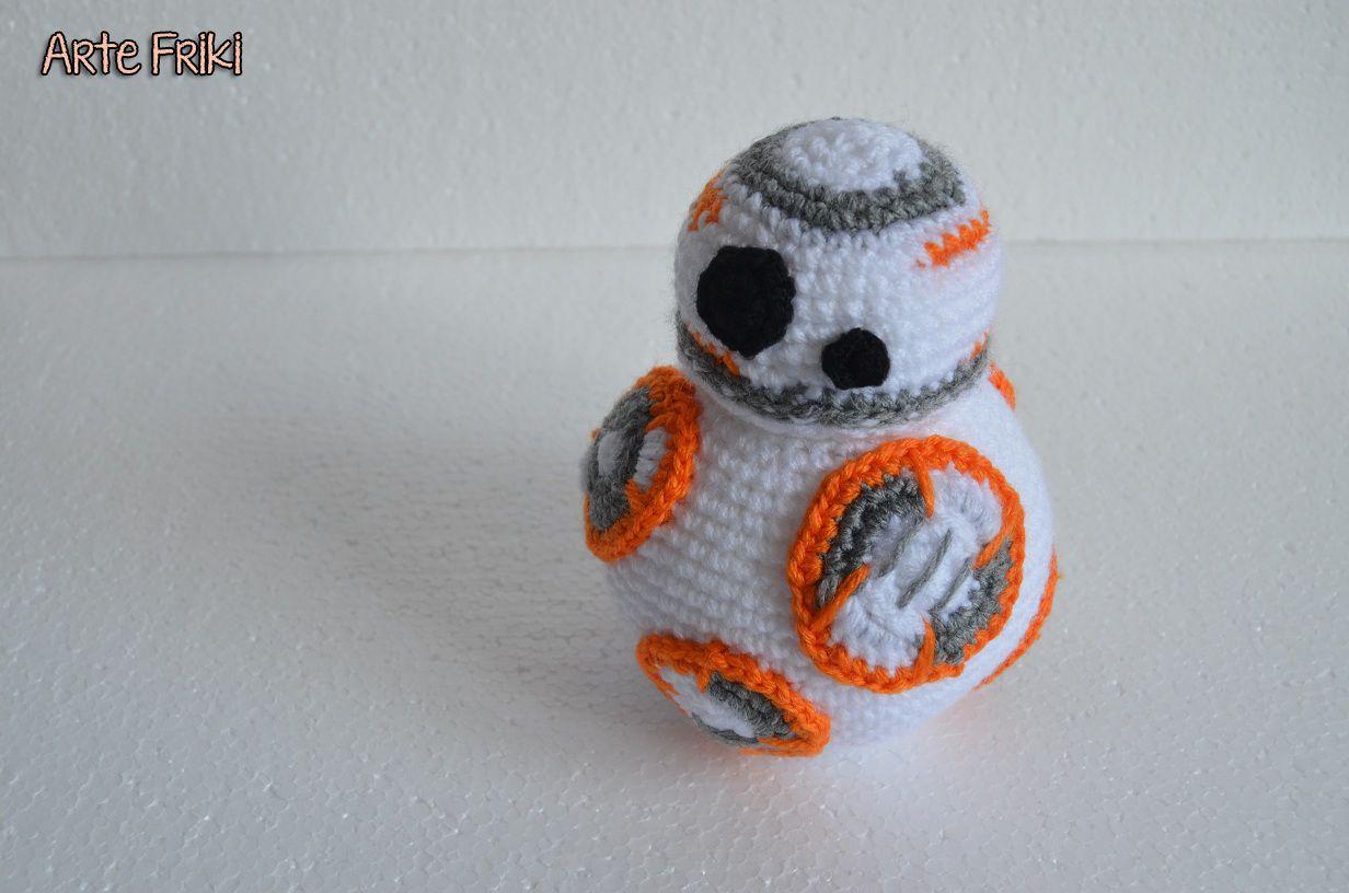 bb8 star wars amigurumi guerra de las galaxias droide crochet ...