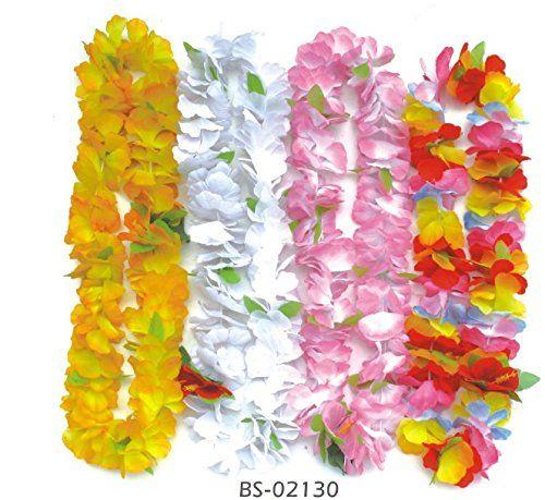 BOSHENG 40 Hawaiian Luau Jumbo Silk Flower Leis Tropical Party BOSHENG http://www.amazon.com/dp/B01DTZ2Z5K/ref=cm_sw_r_pi_dp_7W1axb1ZEQ20W