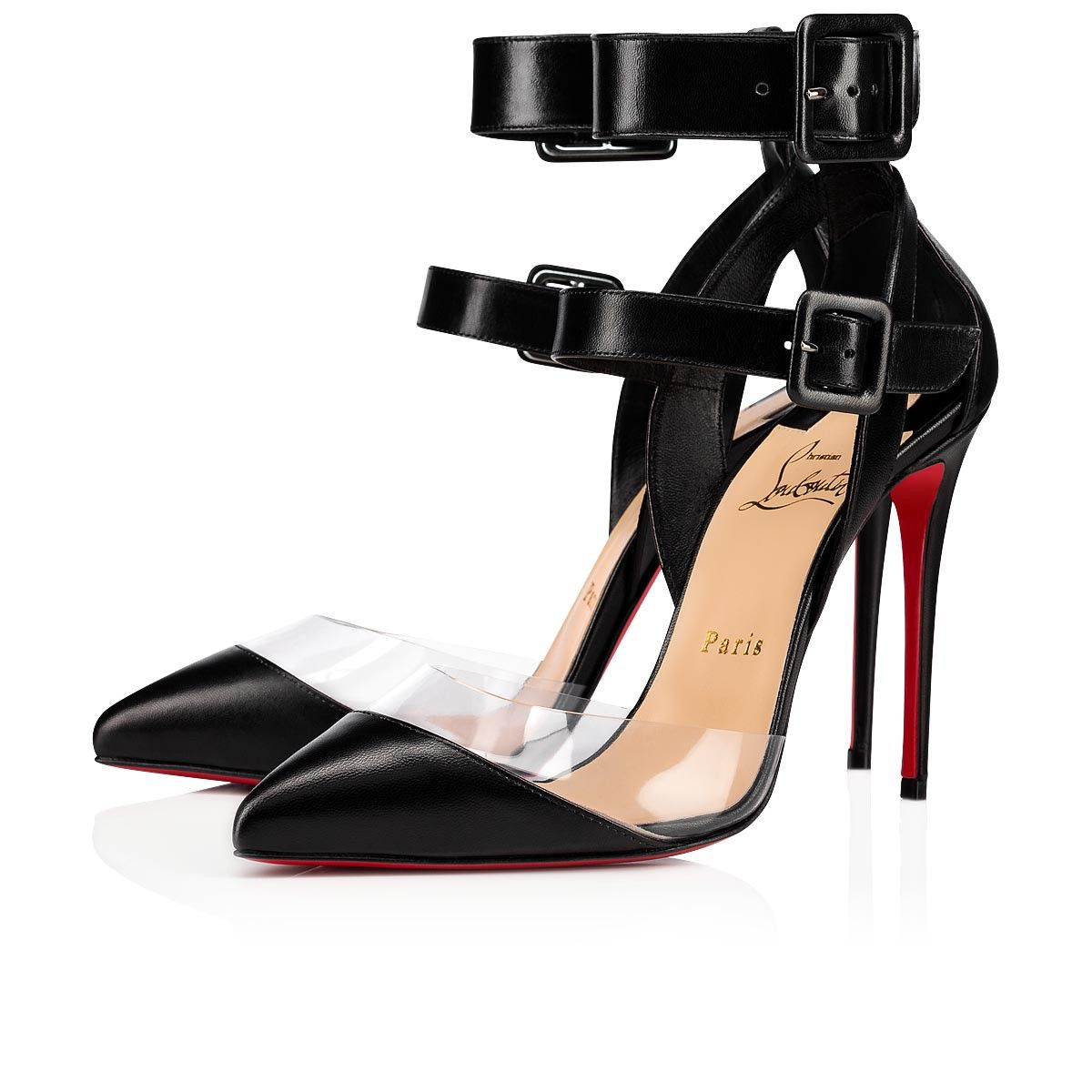 The Multimiss Pumps Have Multi Straps At The Ankle Highlighting The Arch Of The Foot Made Ankle Strap Sandals Heels Pumps Heels Stilettos Strap Sandals Heels