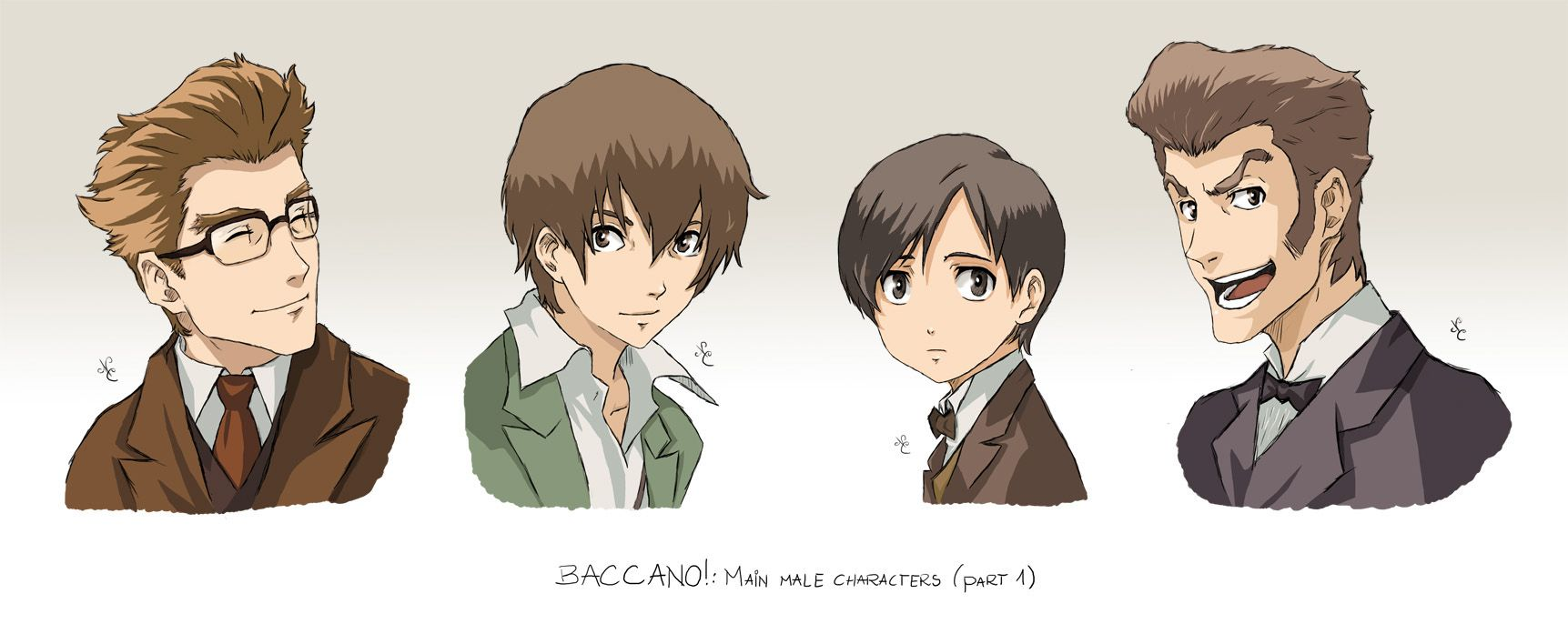 Baccano Characters Part 5 By Nicolecover On Deviantart Baccano Old Anime Art