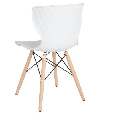 Fine Bedford Contemporary Design White Plastic Chair With Wooden Ibusinesslaw Wood Chair Design Ideas Ibusinesslaworg