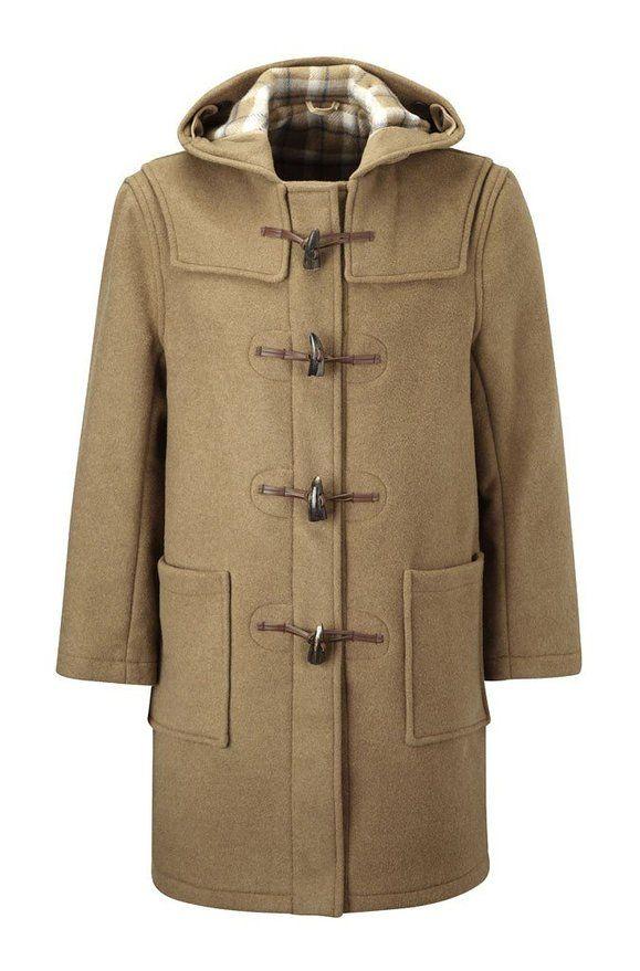 Original Montgomery Mens Duffle Coat (Size 36, Camel) | Men's ...