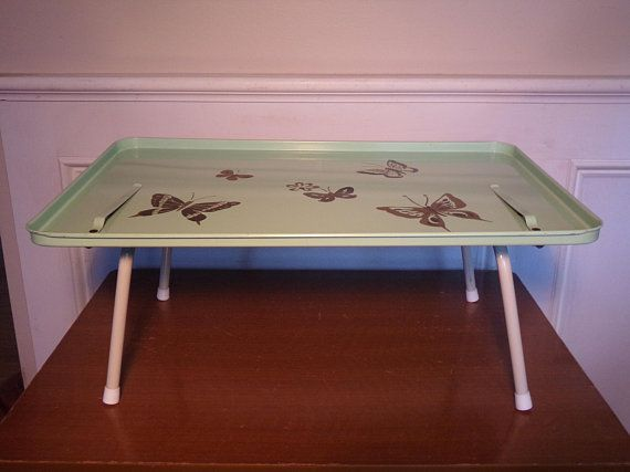 Vintage 1960 S Breakfast In Bed Tray Bed Tray Breakfast In Bed Home Decor