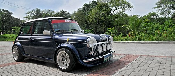 A classic Mini Cooper gets a large dose of VTEC Power  Speed