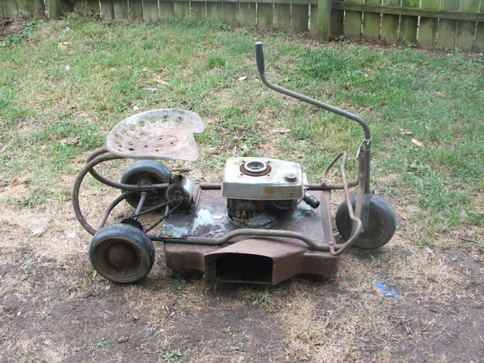Sears Craftsman 3 Wheel Riding Mower Yesterday S Tractors Fahrzeuge Garten Ideen