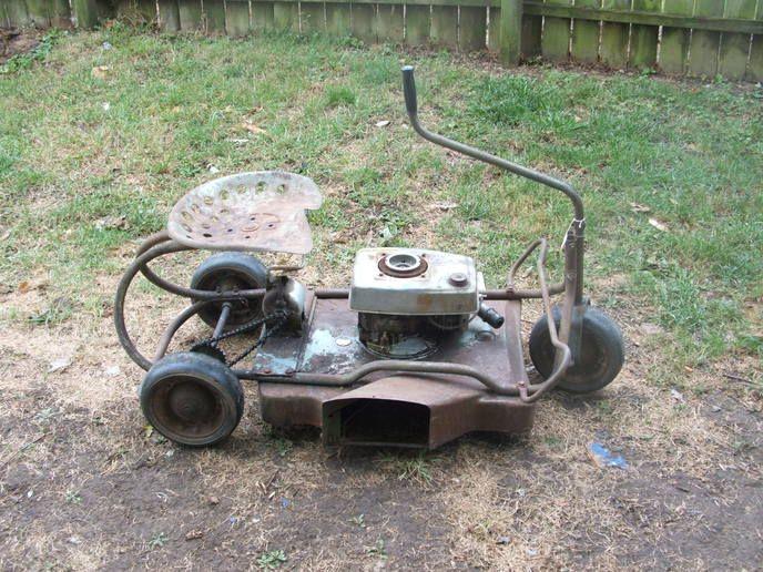 Sears Craftsman 3 Wheel Riding Mower Yesterday S Tractors Fahrzeuge Garten Ideen