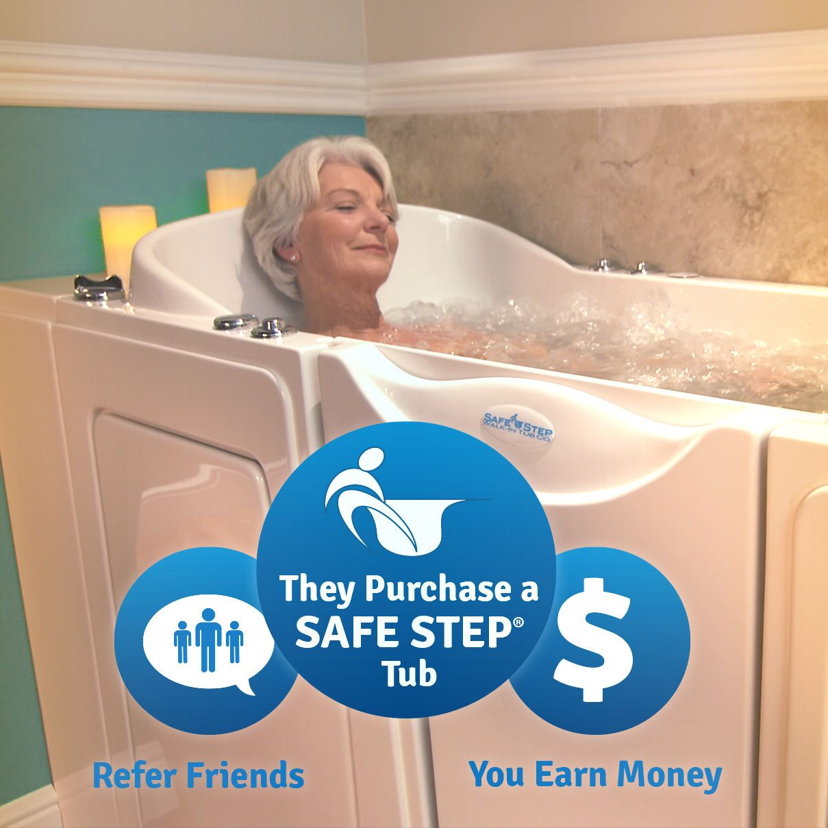 Did You Know Safe Step Has A Referral Program Refer A Friend To