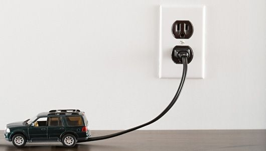 Charging An Electric Car At Home Cars Can Be Charged With A 3 Ged Outlet Or Dock The Primary Differences Are Time And