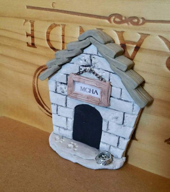 Fairy Door Personalized Dog House made to order | Fairy doors, Dog