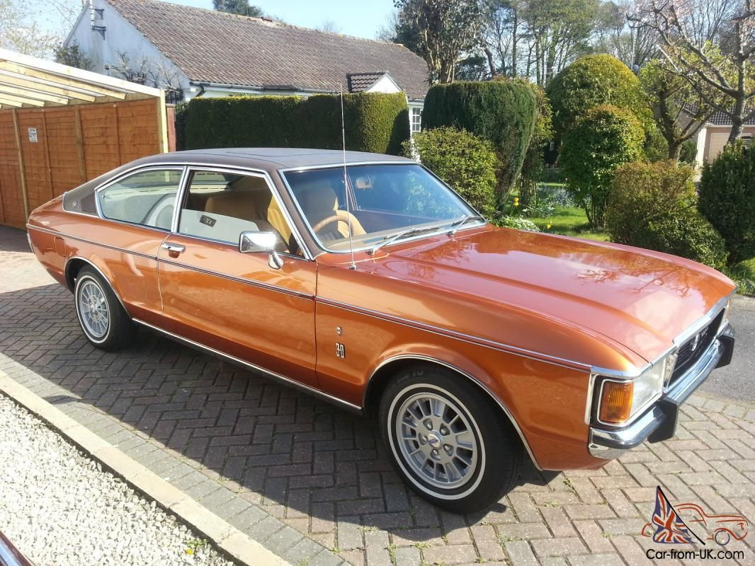 1975 Granada Ghia Coupe Manual Stunning Show Car Classic Cars