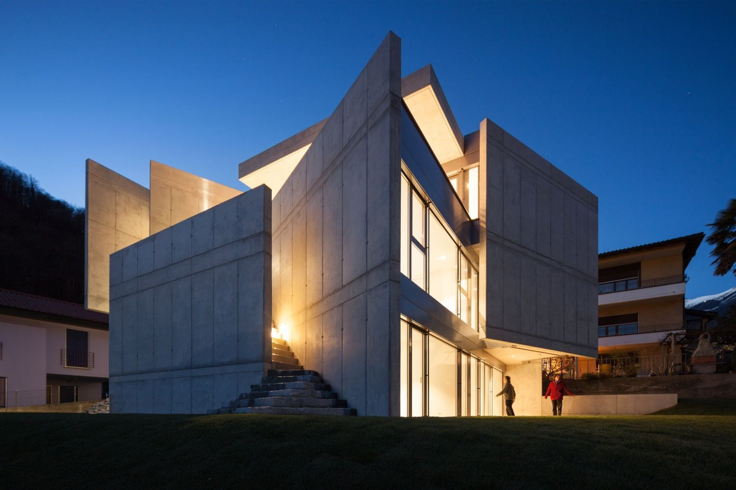 Gallery of Swiss House XXXIV Galbisio / Davide Macullo Architects - 1