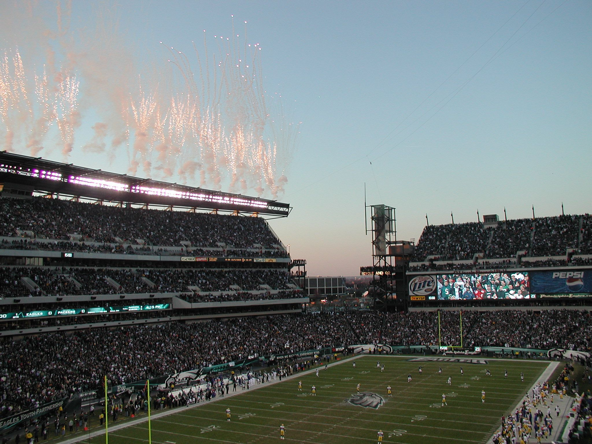 Architectural rendering of Lincoln Financial FIeld Eagles NFL Stadium Construction Pinterest
