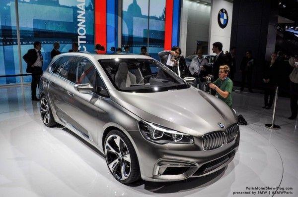 The BMW Concept Active Tourer sees its premiere at the 2012 Paris ...