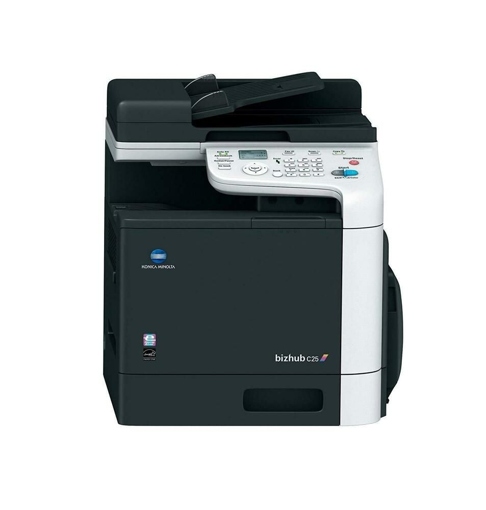 Konica Minolta Bizhub C25 Color Laser Multifunction Printer Konicaminolta Multifunction Printer Konica Minolta Printer