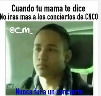 Resultado De Imagen Para Cnco Memes Cnco Concierto De Cnco Memes