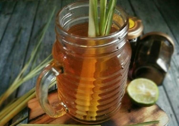 Resep Teh Serai Madu Pr Recookmantenelise Oleh Dapurvy Resep Madu Resep Minuman