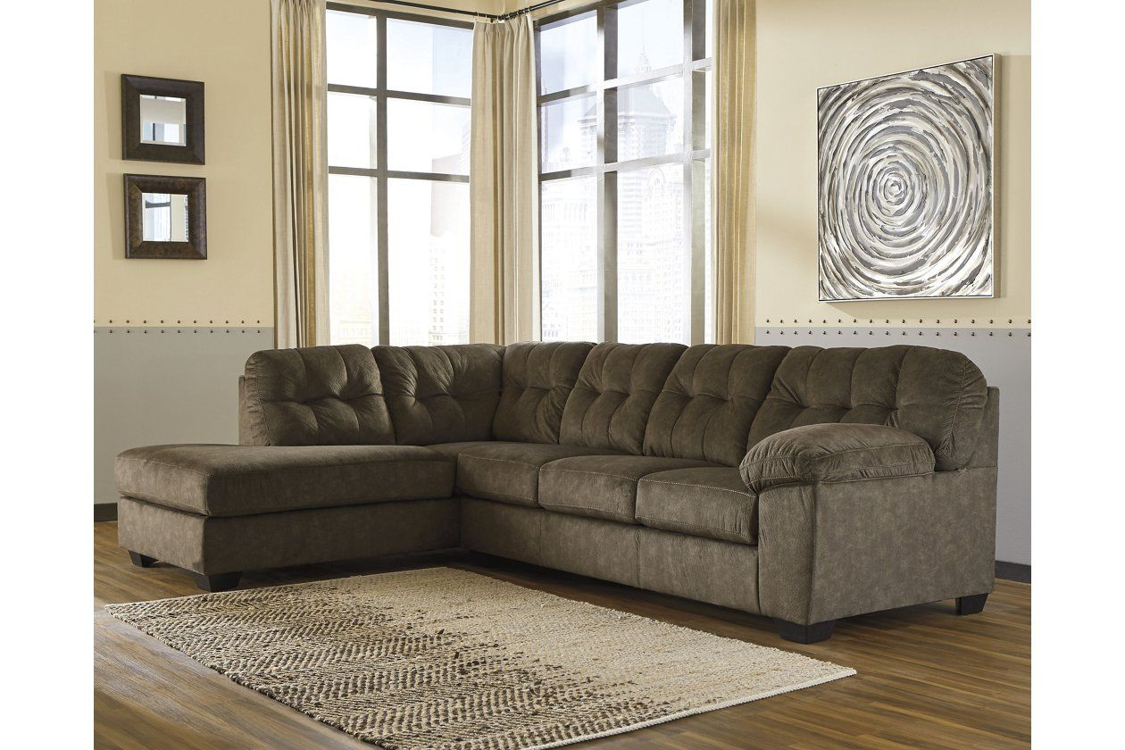 Accrington 2 Piece Sectional With Chaise Ashley Furniture Homestore In 2020 Ashley Furniture Sectional Sofa Furniture